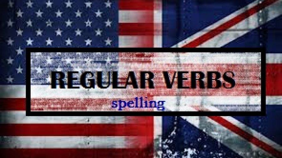 El Pasado de los Verbos Regulares-Spelling (Ortografía)-