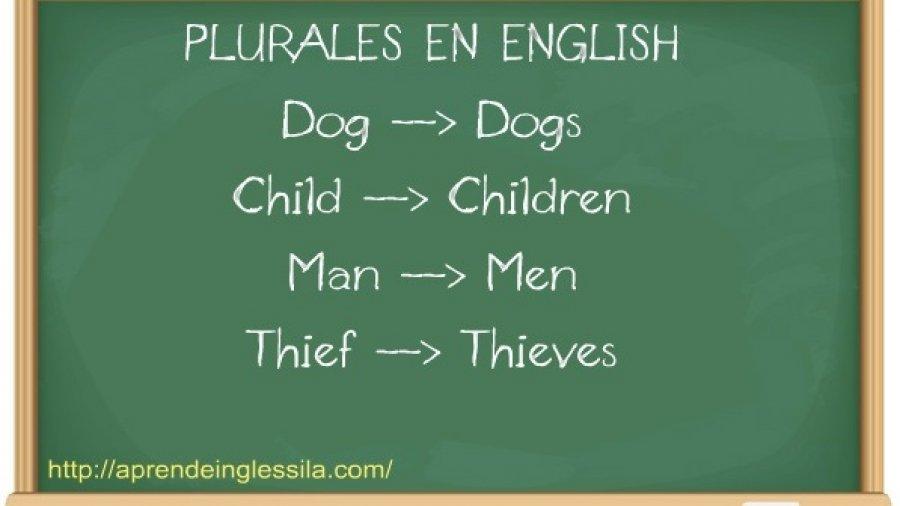 Cómo se forma el plural en inglés