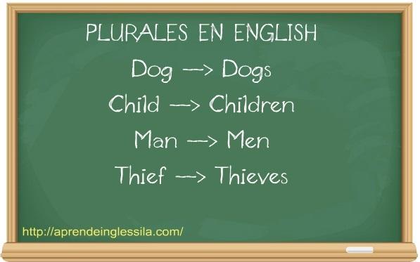 Cómo Se Forma El Plural En Inglés Aprende Inglés Sila