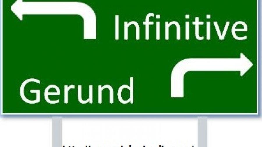 ¿Verbos con gerundio o con infinitivo?