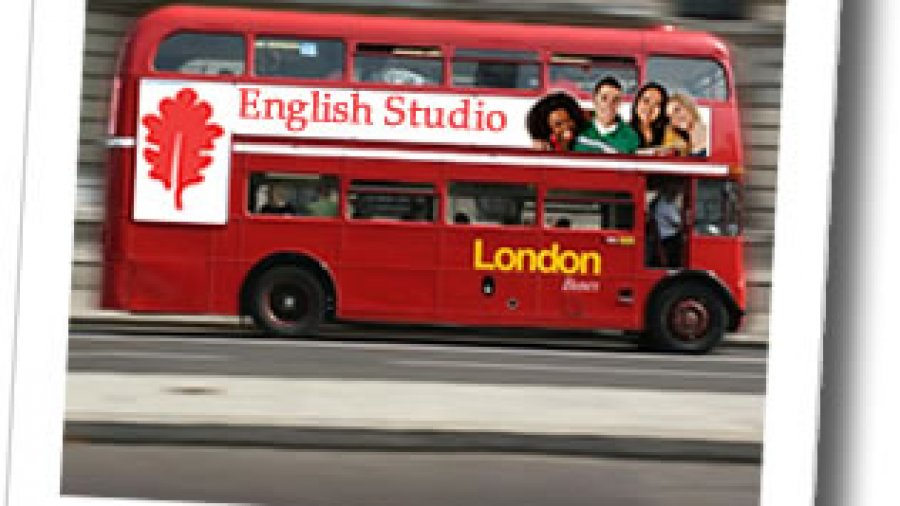 english-studio-Iondon bus