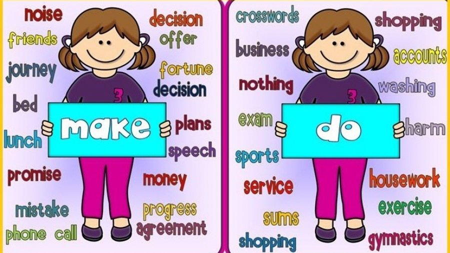 do y make en inglés
