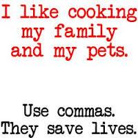 uso de la coma en inglés