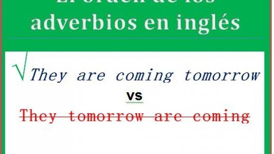 orden adverbios