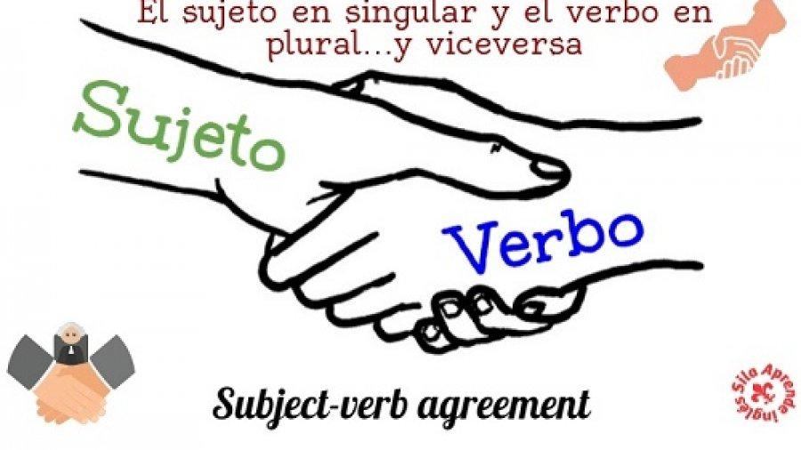 sujeto singular verbo plural