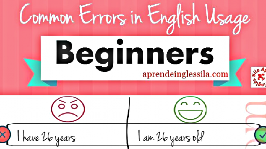 Errors in English