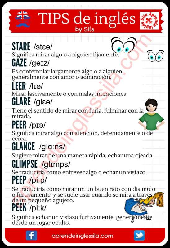 ampliar vocabulario en inglés