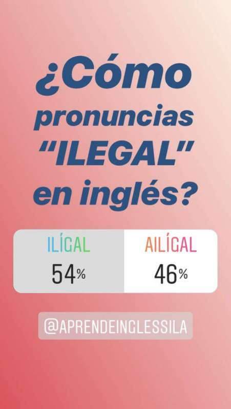 pronunciación i en inglés