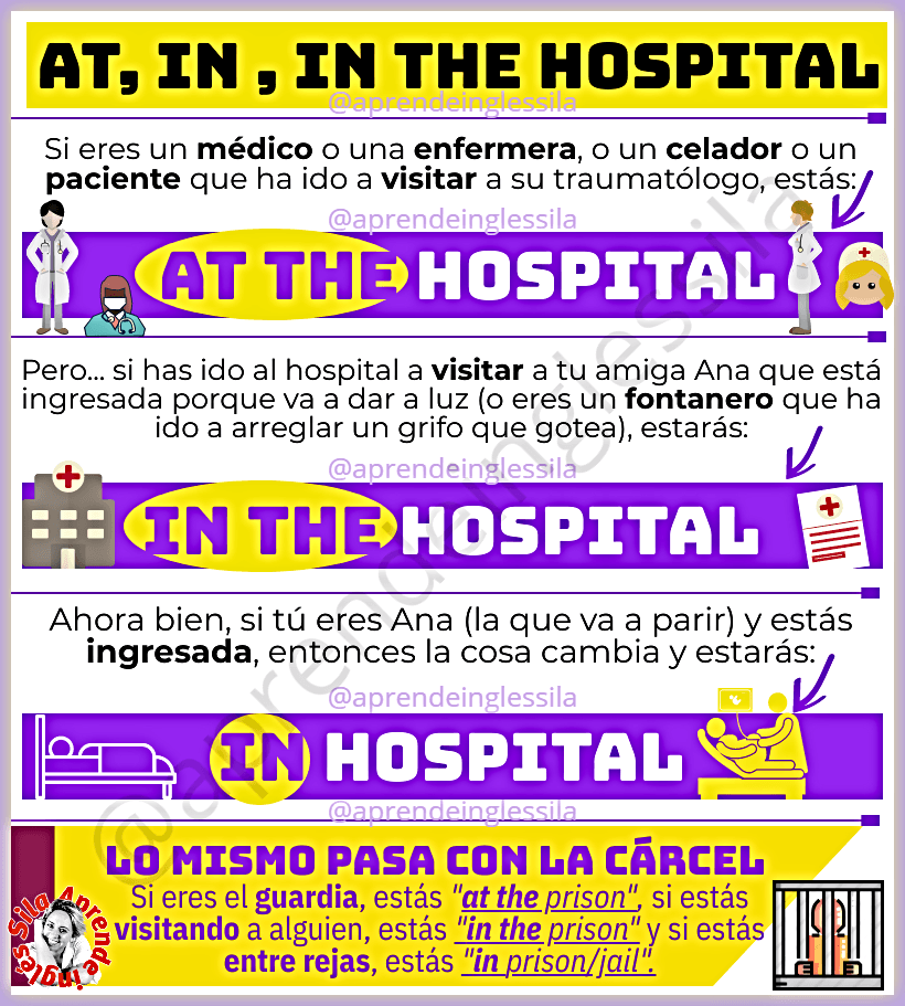 in the hospital
