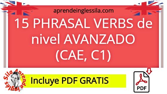 phrasal verbs cae