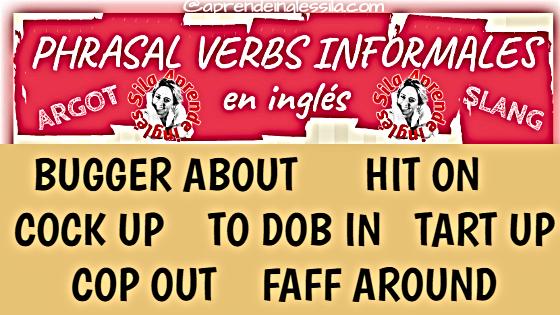 Phrasal Verbs informales