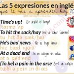 expresiones coloquiales en inglés